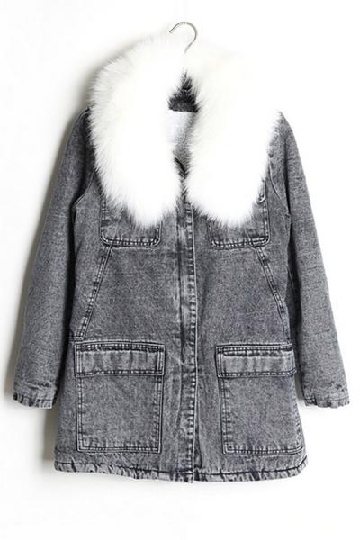 street-chic-faux-fur-wash-denim-coat