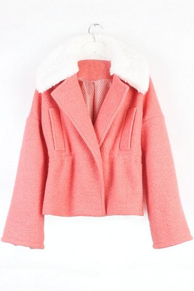 sweet-faux-fur-collar-coat