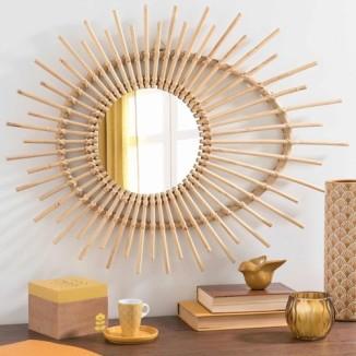 miroir rotin maison du monde 50e